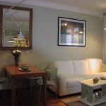Byt v komplexu Zvonařka, obývací pokoj