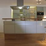 Byt malá strana, pohled na kuchyň