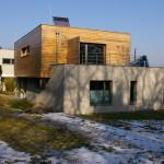 Dvojice vil  nad Chuchelským závodištěm, realizace 2010-2012